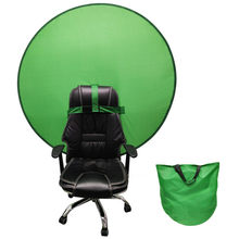 Novo verde de volta à terra foto vídeo estúdio azul fezes tela portátil 4.65ft para a família banquinho diário feminino maquiagem fezes # w