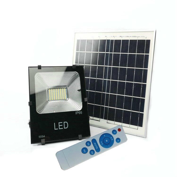 10w 20w 30w 50w 100w 200w Waterproof Solar Powered Sensor LED Flood Light Outdoor Security Solar Floodlight With Remote Control
