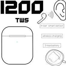 i200 tws Bluetooth 5 Headsets Wireless Charging earphone Pop up Ear detection PK i12 i9000 i800 i30 i60 i20