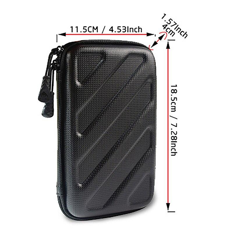 Hard Shell 4 Slot Watch Box Organizer Waterproof Travel Watch Storage Zipper Case Portable Watch Strap Band Organizer Bag