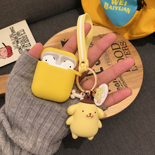 for AirPods protective silicone cute sanrio pudding dog cartoon adorable apple wireless bluetooth headset sof shell airpod