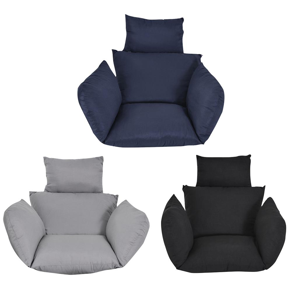Swing Chair Cushion Sofa Seat CushionThicken Seat Pad Sofa Home Decorative Pillow Car Seat Hanging Chair Back With Pillow