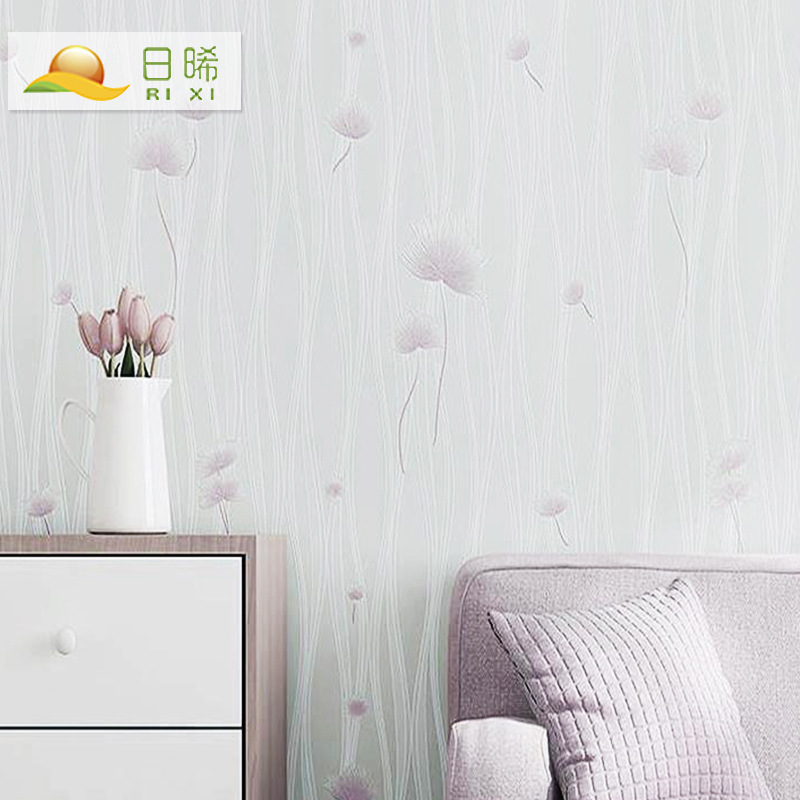 Day Xi Nonwoven Fabric TV Backdrop Wallpaper Decoration Main Material Home Improvement Living Room Wallpaper Manufacturers Suppl