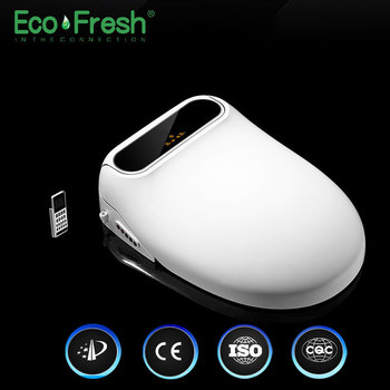 Ecofresh Smart toilet seat toilet seat bidet Electric Bidet cover heat seat led light Intelligent toilet cover auto gappo toilet seats simple clean toilet seat cover toilet bidet seat intelligent washlet smart wash bidet