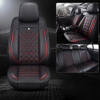 Leather car seat cover only for Honda Accord City Civic CRV CRZ Crosstour Elysion Fit Jade Jazz Insight Odyssey Pilot Shuttle