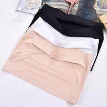 Zomer Vrouwen Modal Bandeau Top Solid Ademende Strapless Beha Bandeau Zachte Naadloze Vrouwen Casual Tank Crop Tops(China)