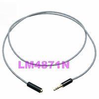 DHL/EMS 20 lotes Cable de extensión Cable L 2B2AT enchufe de 3 5mm estéreo TRS jack TRS para mp3/ celda/coche d2 Accesorios de batería y accesorios de cargador     -