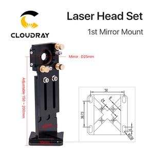 Image 3 - Новая лазерная головка Cloudray серии CO2 E с объективом D20mm FL50.8 & 63,5 & 101,6, зеркало 25 мм для лазерного гравировального станка