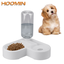 Pet-Cat-Feeder Bowl Automatic Dogs-Products Kitten Water HOOMIN 500ml Bottle Drinking