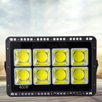 4PCS LED Floodlight COB 200W 300W 400W 500W Reflector Flood Light Spotlight AC 85 265V Waterproof Outdoor Wall Lamp Projectors