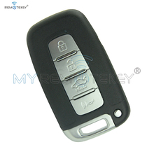 Remtekey Smart remote key for Hyundai Accent Elantra IX35 Smart key 4button 434mhz smart key цена 2017