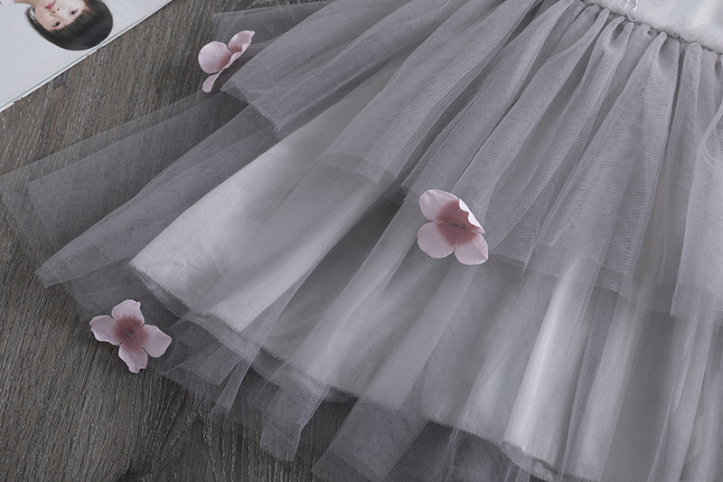 H25d1b360da3b47a4ae0e7346cfb47ee9p Lace Little Princess Dresses Summer Solid Sleeveless Tulle Tutu Dresses For Girls 2 3 4 5 6 Years Clothes Party Pageant Vestidos