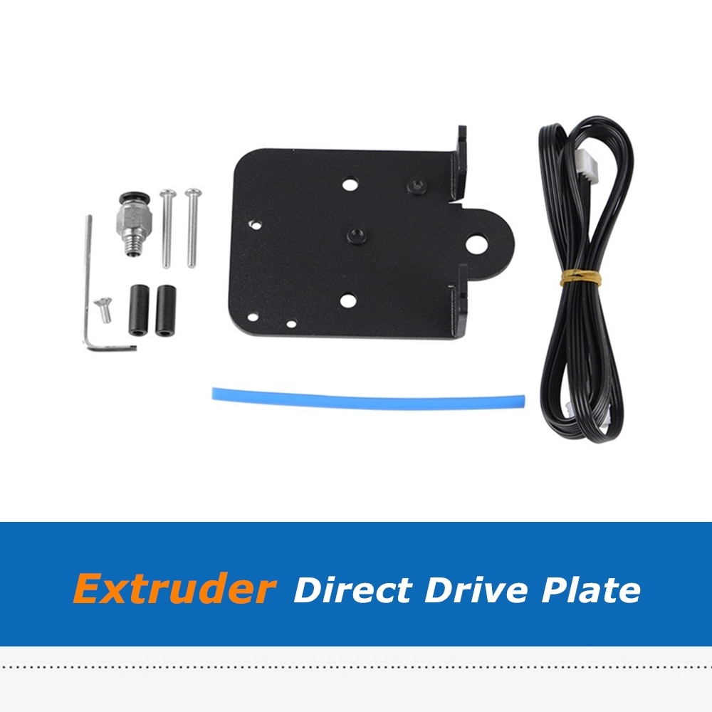 Ender 3 Aluminum Alloy Direct Drive Plate Upgrade Kit Direct Extruder Adapter Plate For <font><b>Creality</b></font> <font><b>CR10s</b></font> Ender-3 3D Printer Parts image