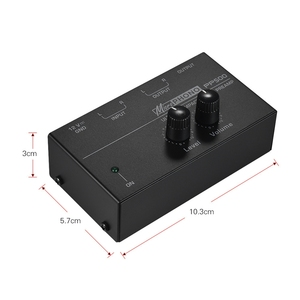 Image 2 - Hot 3C Pp500 Ultra Compact Phono Preamp Preamplifier with Level & Volume Controls Rca Input & Output 1/4 Inch Trs Output Interfa