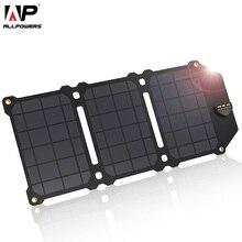 Allpowers 21W Sạc Điện Thoại 2 Cổng USB 5V 4A Lượng Mặt Trời Etfe Sạc Năng Lượng Mặt Trời Cho Điện Thoại Thông Minh