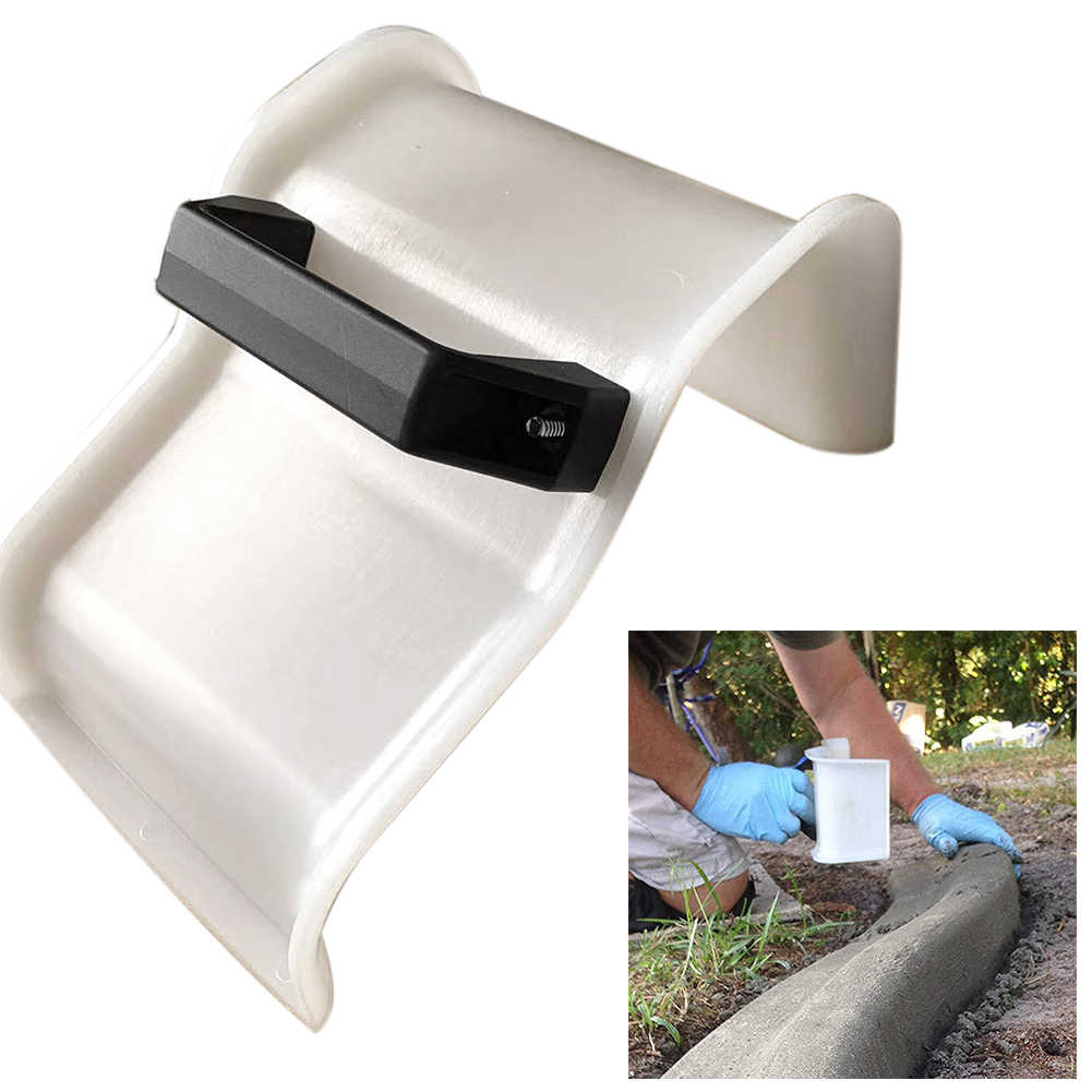 Model Making Tool With Handle Concrete Trowel For Garden Grout Skimming