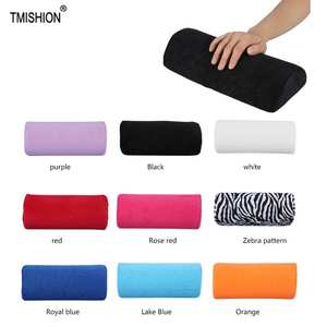 Pillow-Holder Rests Hand-Cushion Nail-Art-Stand Manicure-Pillow Washable 10-Colors Soft