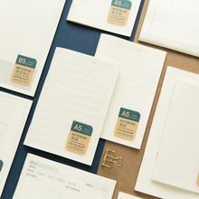 JIANWU-Cuaderno suave A5 B5, creativo, Simple, PP, suministros para diario, notas extensas, papelería para estudiantes