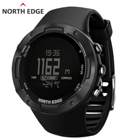 North Edge Men's Sports Digital Watch Running Sports Wristband Altimeter Barometer Compass Direction Tracking Waterproof 50M