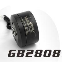 Nuevo EMAX GB2808 70KV 100T eje hueco Motor sin escobillas para 2-eje BGC sin escobillas Cámara montaje cardán Rc multirotor Drone
