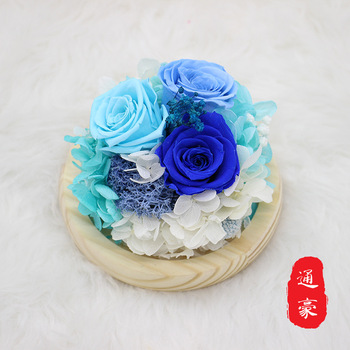 Eternal Glass Gift Chinese Valentine's Day Valentine's Day Gift Ideas Decoration Wholesale