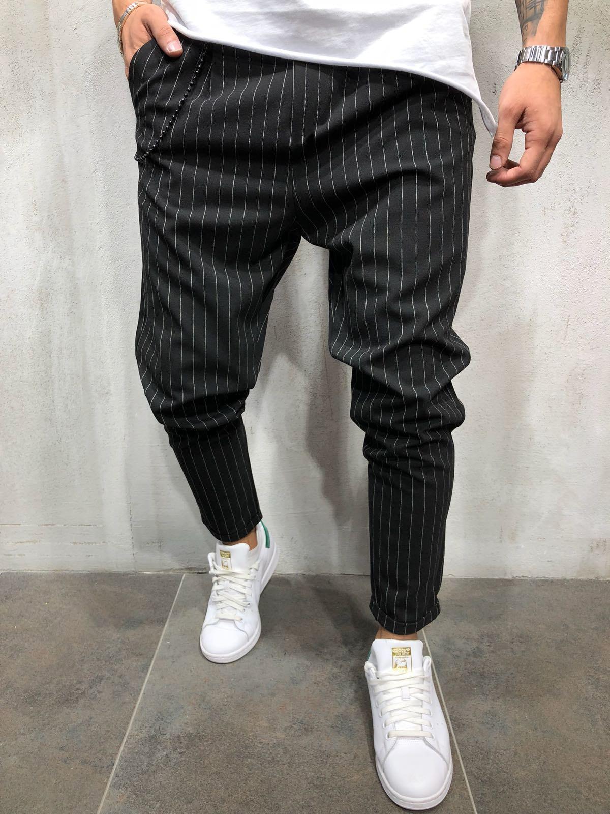H25d33bbca3a04f04b718ef325c7c85e4L Spring Autumn Casual Men Sweat Pants Male Sportswear Casual Trousers Straight Pants Hip Hop High Street Trousers Pants Joggers