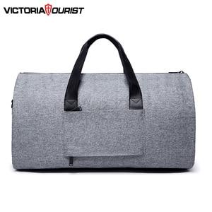 Image 3 - Victoriatourist Travel bag Garment bag men women Luggage bag versatile suit package for business trip work leisure