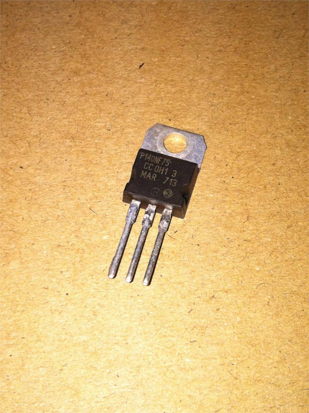 10pcs/lot STP140NF75 P140NF75 TO220 75V 120A New Original In Stock