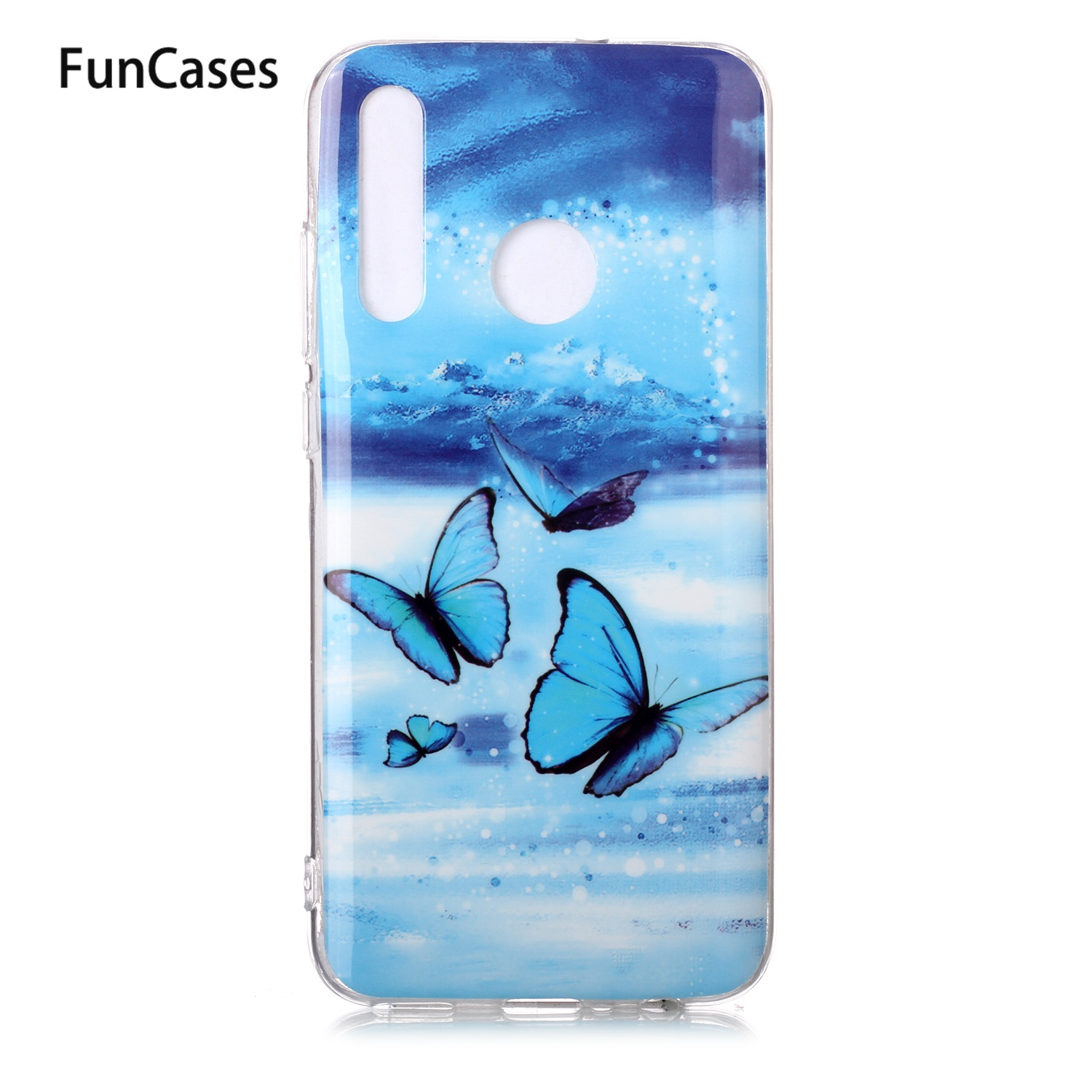 Lovely Silicone Cases Covers For Huawei Honor 8A Luminous TPU Shell Huawei Honor 8S P Smart 2019 Y6 Prime 10 Lite Y5 Y7 Aksesuar(China)