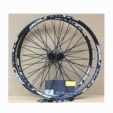 MEROCA MTB 산악 자전거 자전거 밀폐형 베어링 크로스 라이드 디스크 휠셋 26 인치 휠 6 홀 중앙 잠금 림 27.5 29