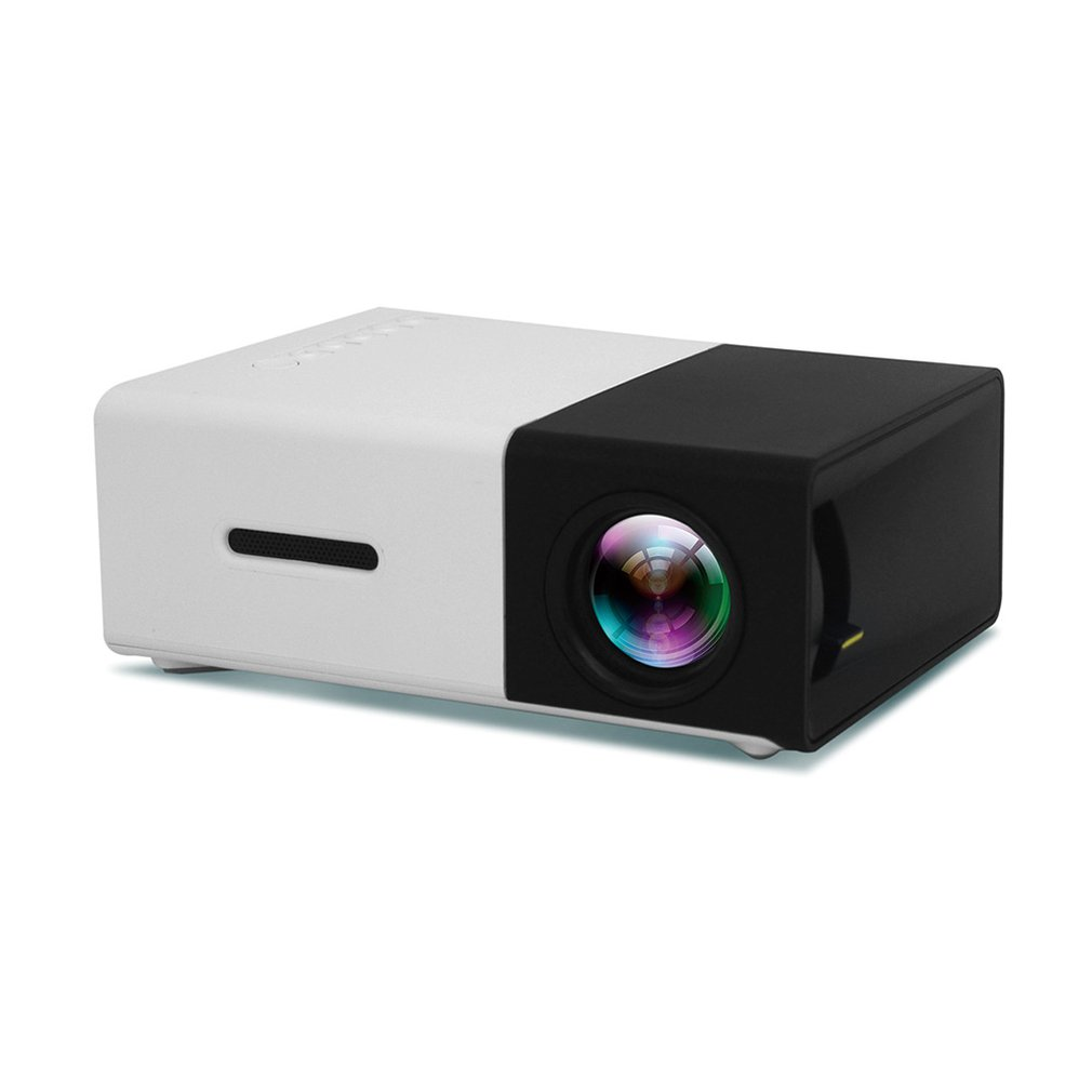 <font><b>YG300</b></font> LED Projector 3D HD Portable Mini Pocket LCD Proyector for Home Cinema Theater 3.5mm Audio/HDMI/USB/SD Inputs Beamer New image