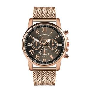Women's Watches Luxury Quartz Sport Military Stainless Steel Dial Leather Band Wrist Dress Geneva Watch Women