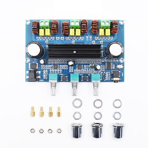 Image 3 - Bluetooth 5.0 TPA3116D2 Digital Power Amplifier Board 2.1 Channel 2*50W+100W Stereo Power Audio Class D Bass Subwoofer Amplifier
