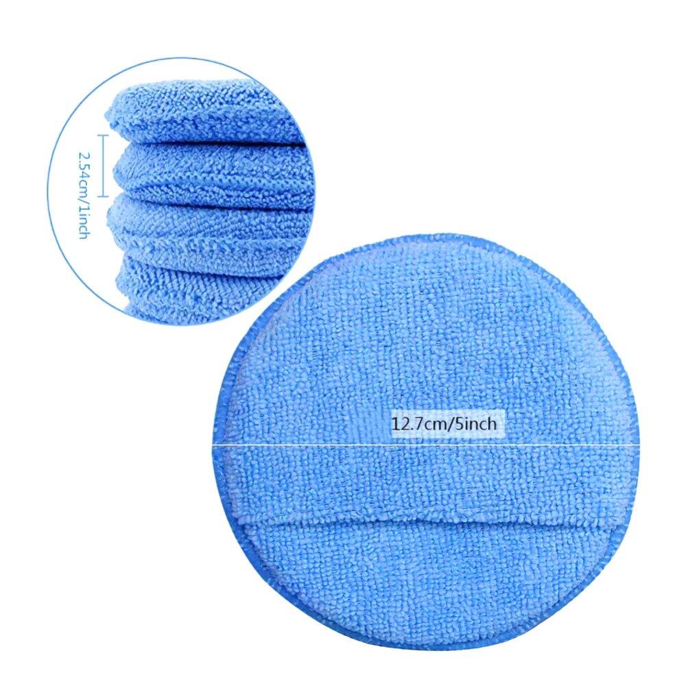 de polimento de microfibra bonnet e almofada