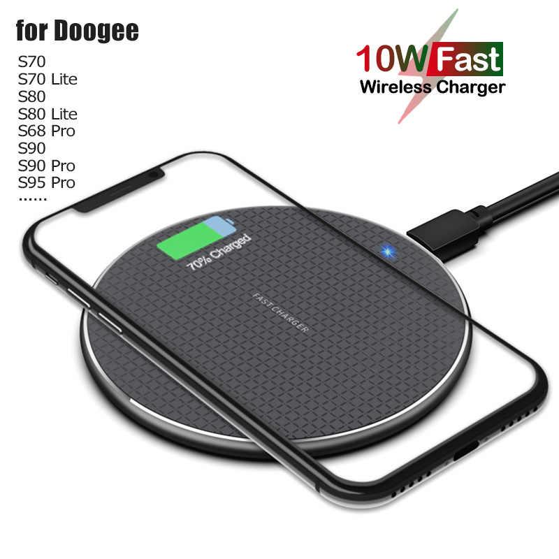 10W Snelle Qi Draadloos Opladen Voor Doogee S95 S90 S88 S68 Pro 5W Telefoon Draadloze Oplader Voor Doogee s60 S70 S80 Lite BL9000