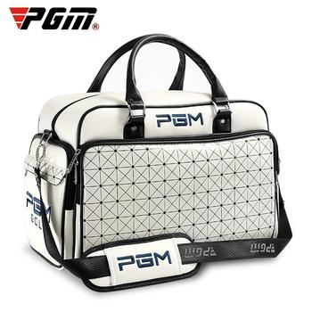 Waterproof Shoe Compartment Gym Bags For Outdoor Sports Gym Fashion PU Women Club Clothes Shoes Storage Waterproof Fitness Bag