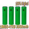 Оригинальный VTC6 18650 3000 мА/ч литий-ионный аккумулятор 3,7 в SONY us18650 vtc6 3000 мА/ч используется в качестве герметичной батареи