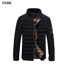Brand Casual Ultralight Mens Cotton Down Jackets Autumn Waterproof Winter Coat Men Lightweight Jacket Overcoats Parkas