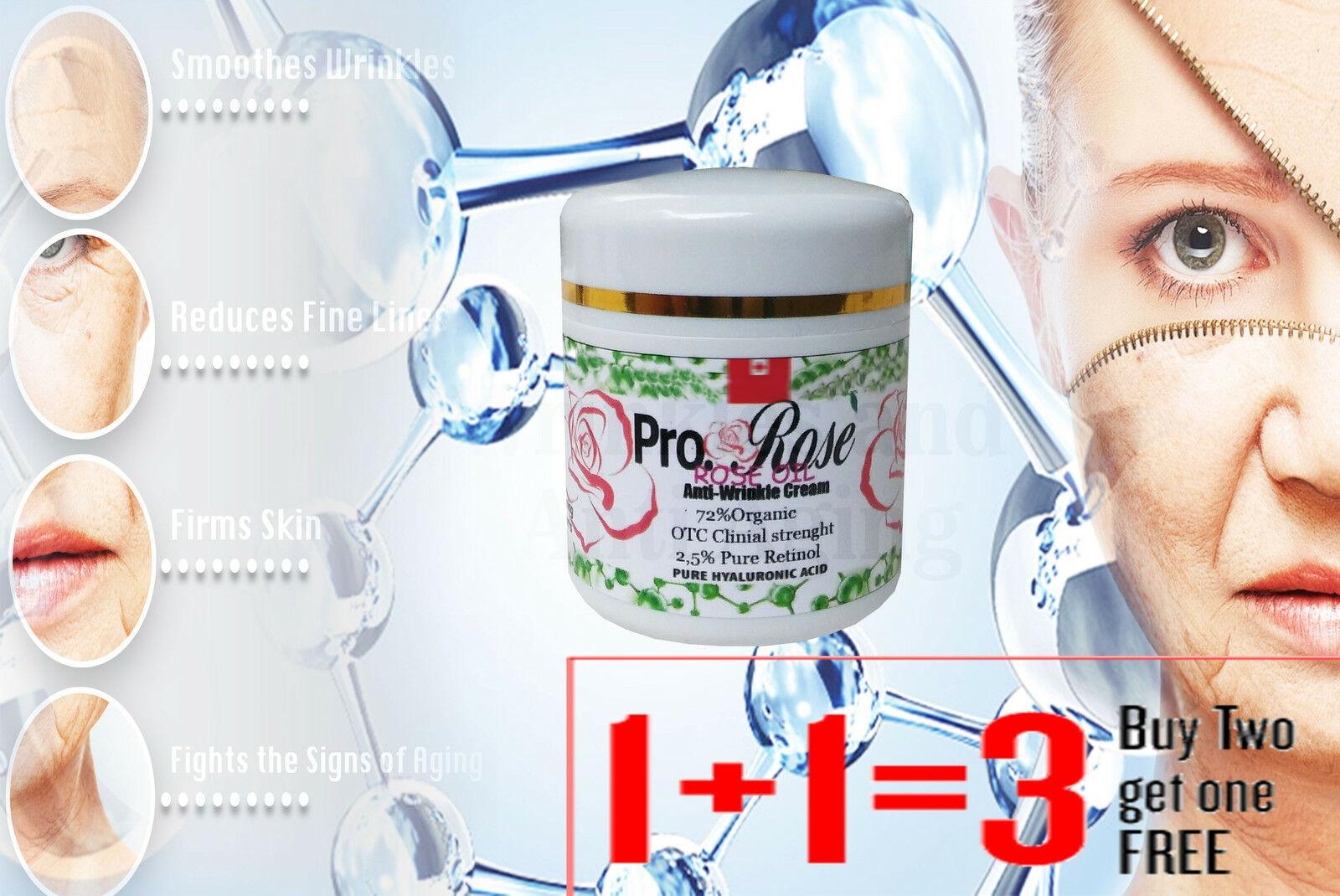 anti rugas retinol creme matrixyl rose oil secrecao do caracol acido hialuronico