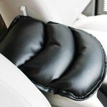 Универсальный чехол для автомобильных сидений из мягкой кожи, автомобильный подлокотник для центра, консольный подлокотник с ящиком, защитная накладка для сиденья, коврик, автомобильный подлокотник, верхняя крышка