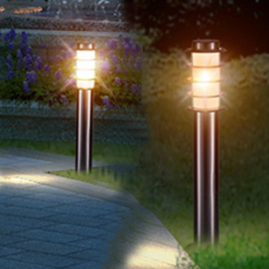 thrisdar 45 60 cm de aco inoxidavel jardim gramado lampada ao ar livre patio caminho pos