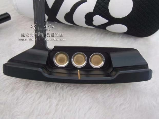 2019 New Golf Putter Golf Club Black And Gold Newport 2 Golf Putter 32/33/34/35/36 Inch With Head Cover Free Shipping
