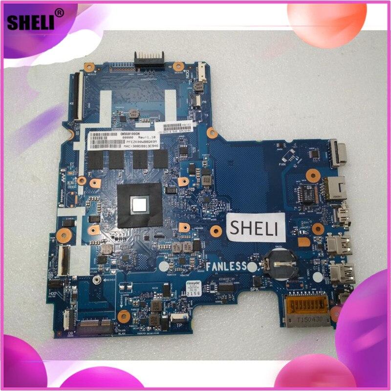 SHELI 814050-001 HP 14 14-AC anakart N3050 4GB 6050A2730201-MB-A0