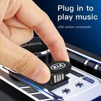 1 Uds unidad Flash USB de Metal capacidad de 64GB 32GB 16GB 8GB disco de U para Kia Sorento Sportage Ceed Rio Picanto Optima alma Cerato Venga