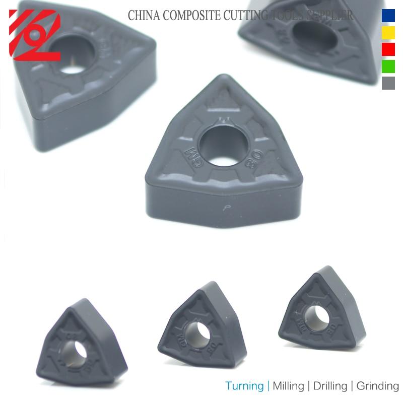 Купить с кэшбэком EDGEV CNC Indexable Carbide Inserts WNMG060404 WNMG060408 WNMG332 Lathe Cutter Turning Tools Tungsten Blade Tips Machining steel
