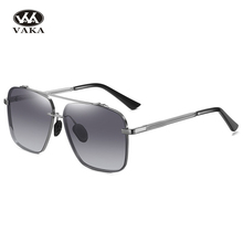 New Fashion Brand Men Polarized Sunglasses Vintage Driving Mirror Sun Glasses Polaroid Gradient lens