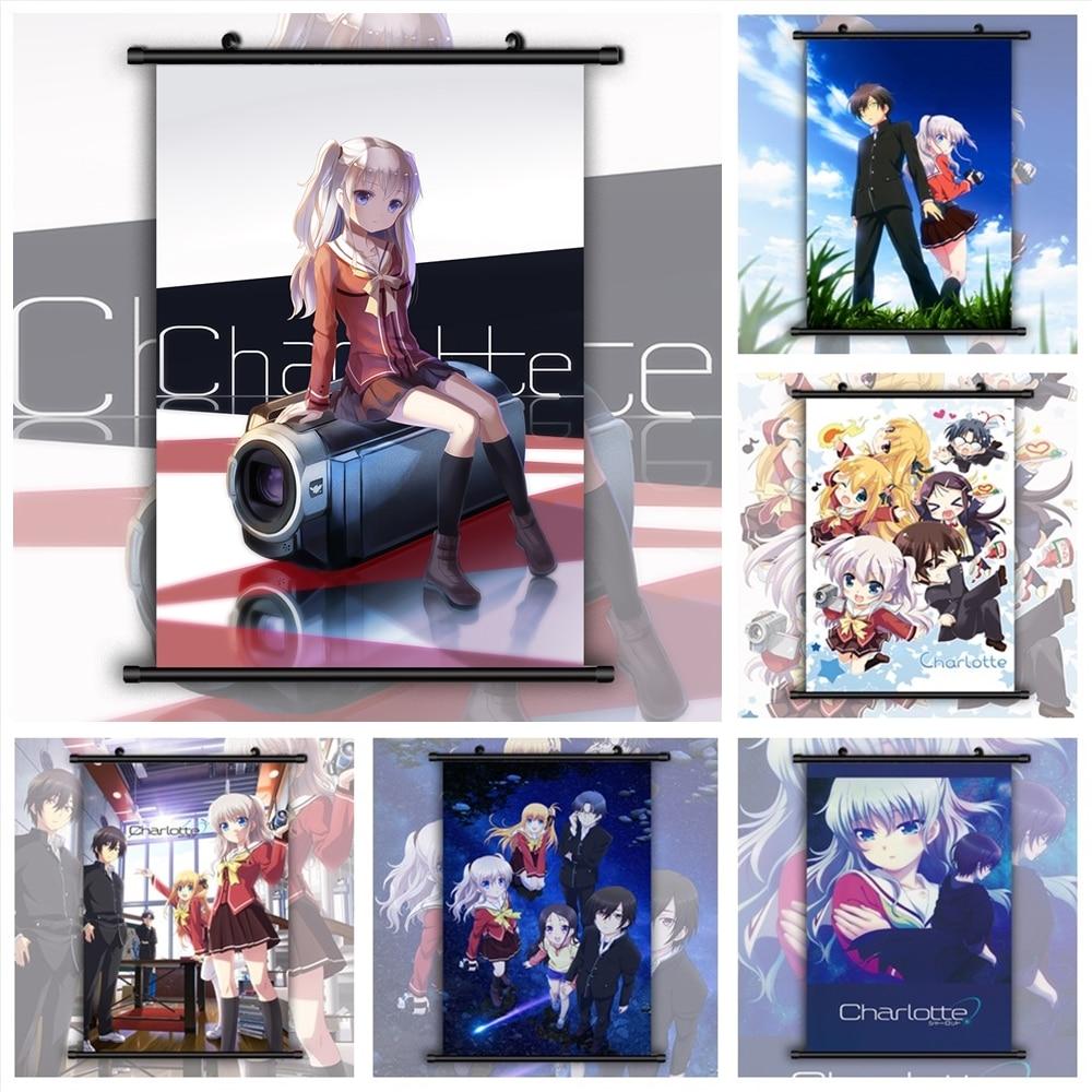 Настенные плакаты в стиле аниме «Charlotte manga»