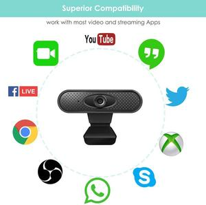 New Hd 1080 P Megapixel Usb 2.0 Webcam Camera With Microphone For Computer Computer Laptop Usb Web Camera Hd Webcams