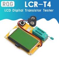 LCR-T4 Mega328-medidor Digital de transistores con pantalla LCD, diodo de retroiluminación, triodo, capacitancia, MOS/PNP/NPN/JFET