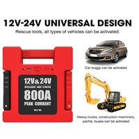 Universal 24000mAh 12V/24V 800A Elektrische Diesel Benzin Lkw Starthilfe Military Produkte Notfall Batterie Pack